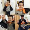 ハロウィンの仮装を手作りで超簡単に!男の子用ドラキュラ編。マントをゴミ袋で作っちゃおう!
